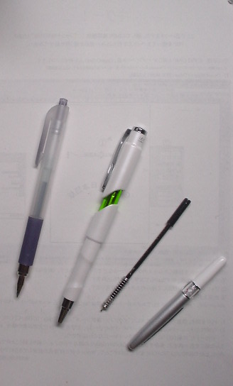 ゼブラの手帳用とか小型ペンとか_47.69kB